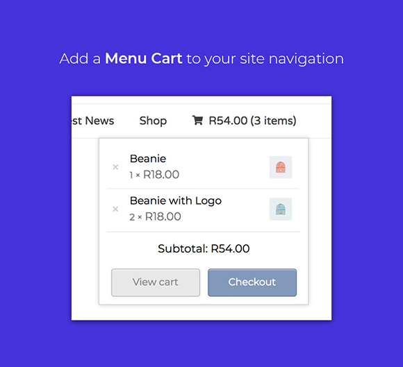 WooCustomizer - WooCommerce Menu Cart
