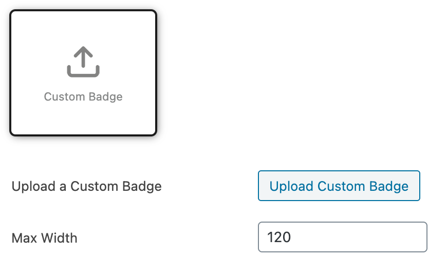 StoreCustomizer - Uploading custom Product Badges