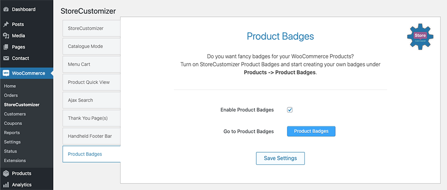 StoreCustomizer - Custom Product Badges for WooCommerce